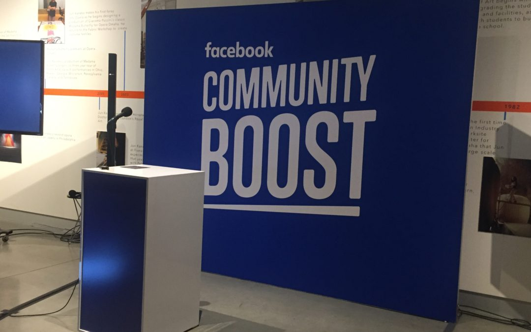 Intertwine Attends Facebook Community Boost Seminar